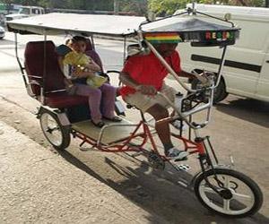 vélo taxis à cuba